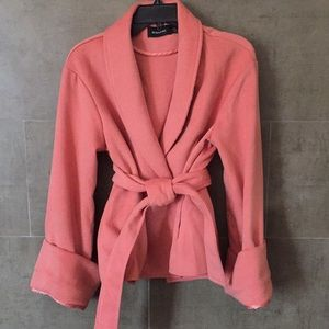 Cute baby pink outerwear